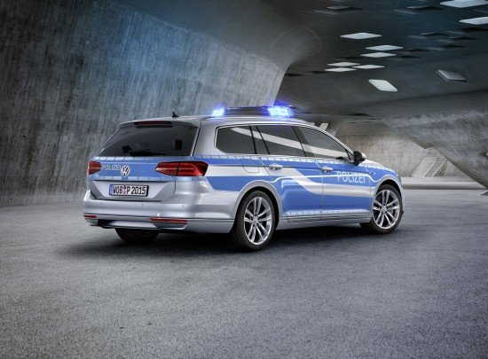 VW PASSAT GTE police