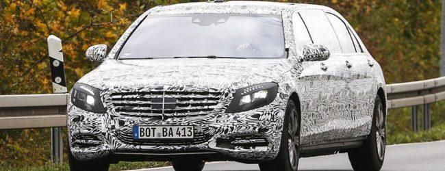 Mercedes S-класс Pullman