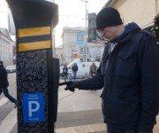 Парковка в городе Москва