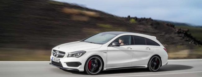 mercedes cla shooting brake 2014