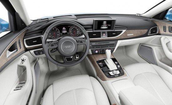 Комплектация кузова Audi A6 2015