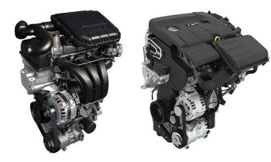 Линейка двигателей для Skoda Fabia 2015