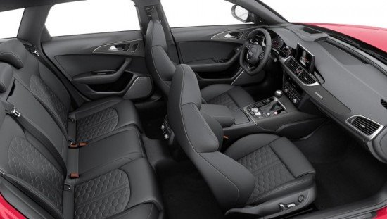 Обзор салона Audi A6 2015