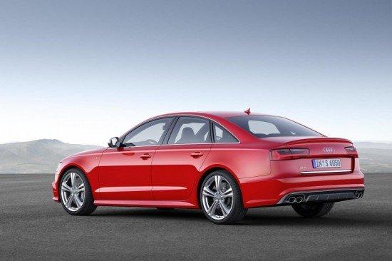 Профиль кузова Audi A6 2015
