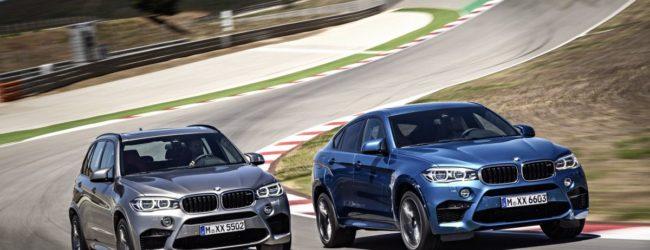 BMW X5 M и BMW X6 M