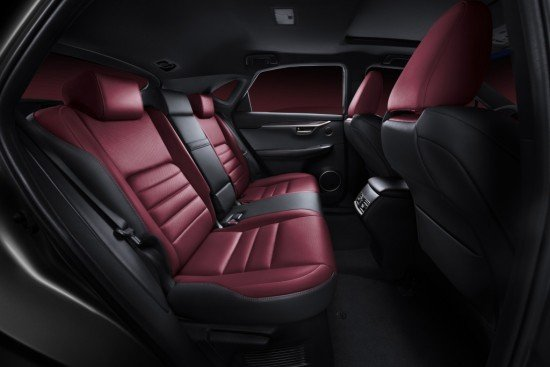Автомобиль Lexus NX 300h: интерьер