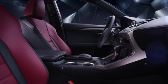 Автомобиль Lexus NX 300h: в салоне
