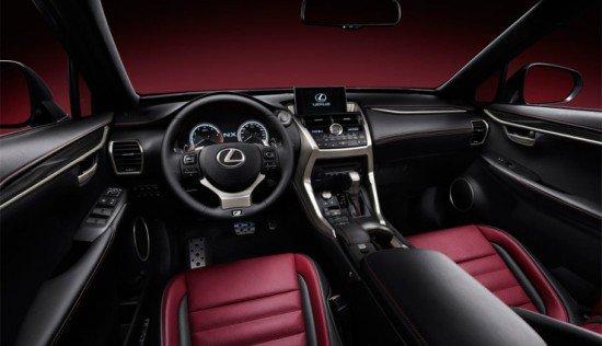 Автомобиль Lexus NX 300h: место водителя