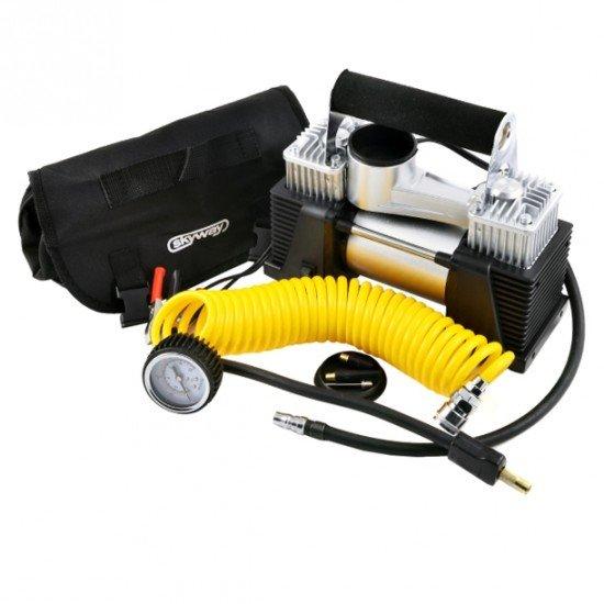Двухпоршневой автомобильный компрессор
