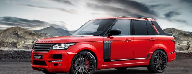 Новый пикап Range Rover