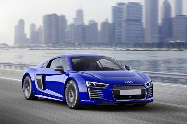 Электрокар Audi R8 e-tron