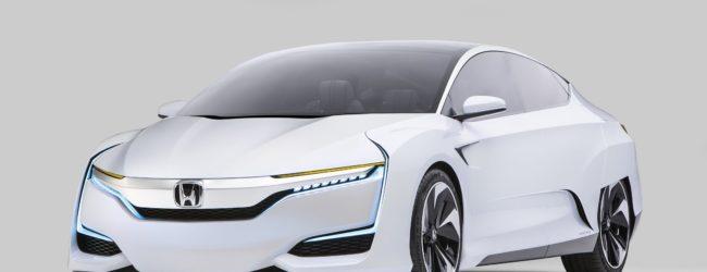 Последняя версия Honda FCV Concept