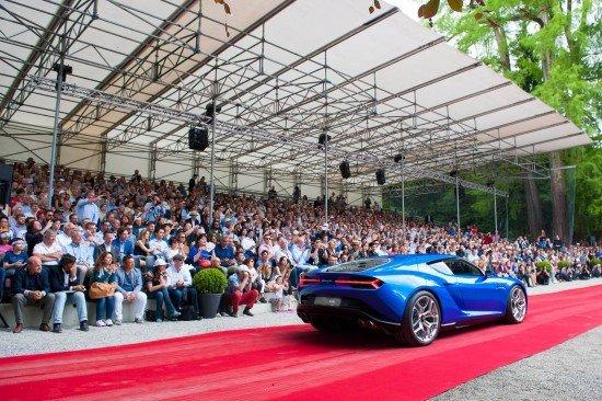 Lamborghini Asterion на конкурсе элегантности Villa D'Este