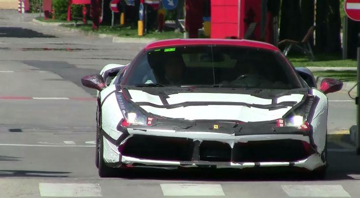 Ferrari 488 GTS Spider в камуфляже