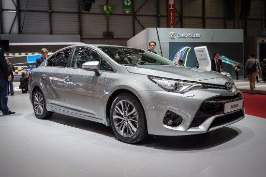 Toyota Avensis на Женевском автошоу 2015