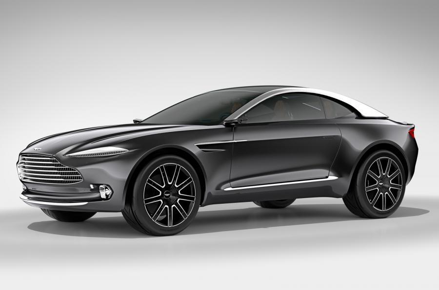 Внедорожник Aston Martin DBX запустят в серийное производство