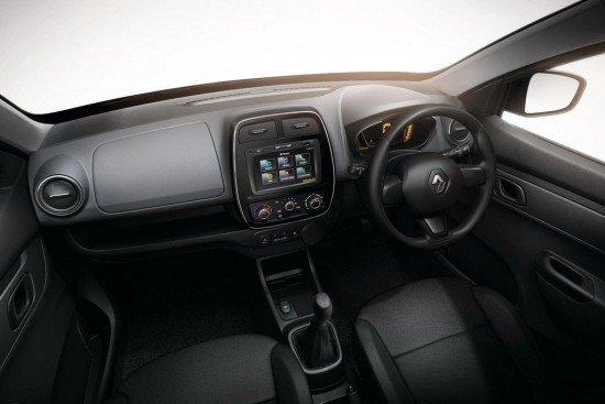 Приборная панель нового Renault Kwid