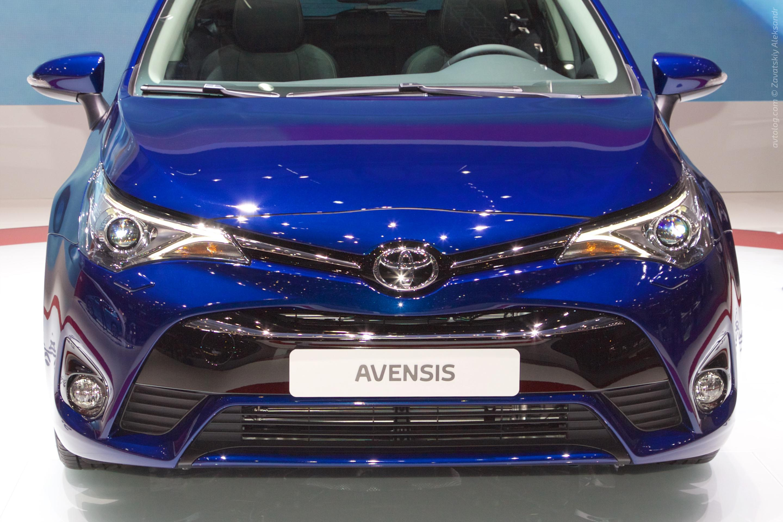 Обновленная Toyota Avensis