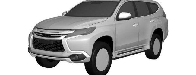 Первое изображение прототипа Mitsubishi Pajero Sport 2016