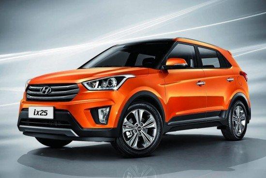 внешний вид Hyundai ix25