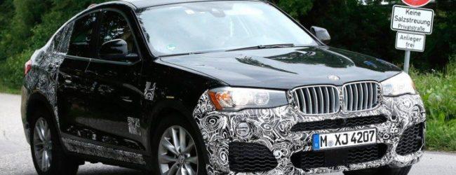 Внешний вид BMW X4 M40i