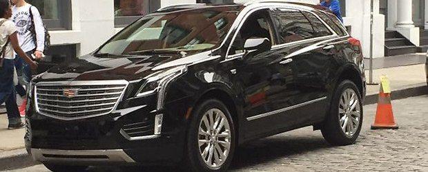 Новый кроссовер Cadillac XT5 заметили на Манхэттене