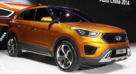 Hyundai Creta новый дизайн