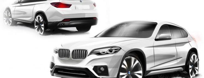 Новый BMW X2 выйдет в 2017-ом