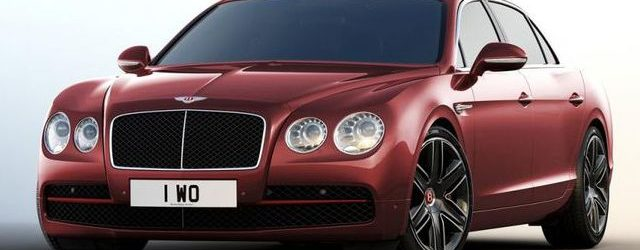 Обновлённый Bentley Flying Spur в топовой комплектации Beluga