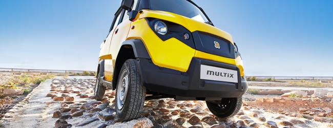 Встречайте новый индийский мини-пикап Multix