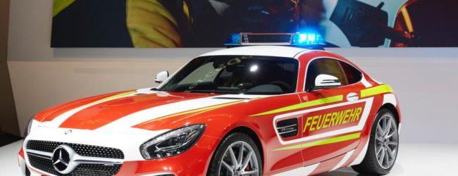 Компания Mercedes создала бестрейшее пожарное авто