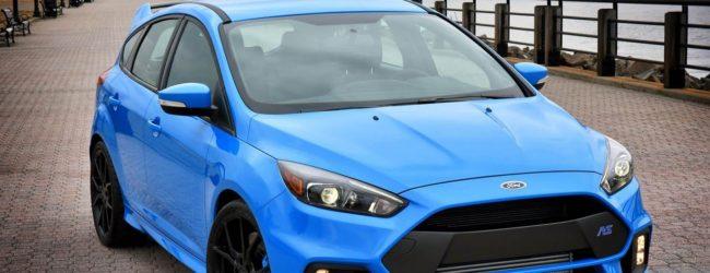 Новый Ford Focus RS. Вид спереди.
