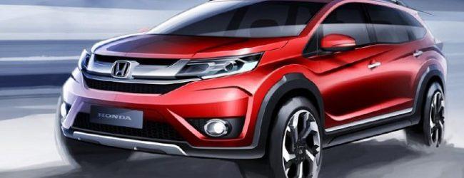 Honda BR-V получит три ряда сидений