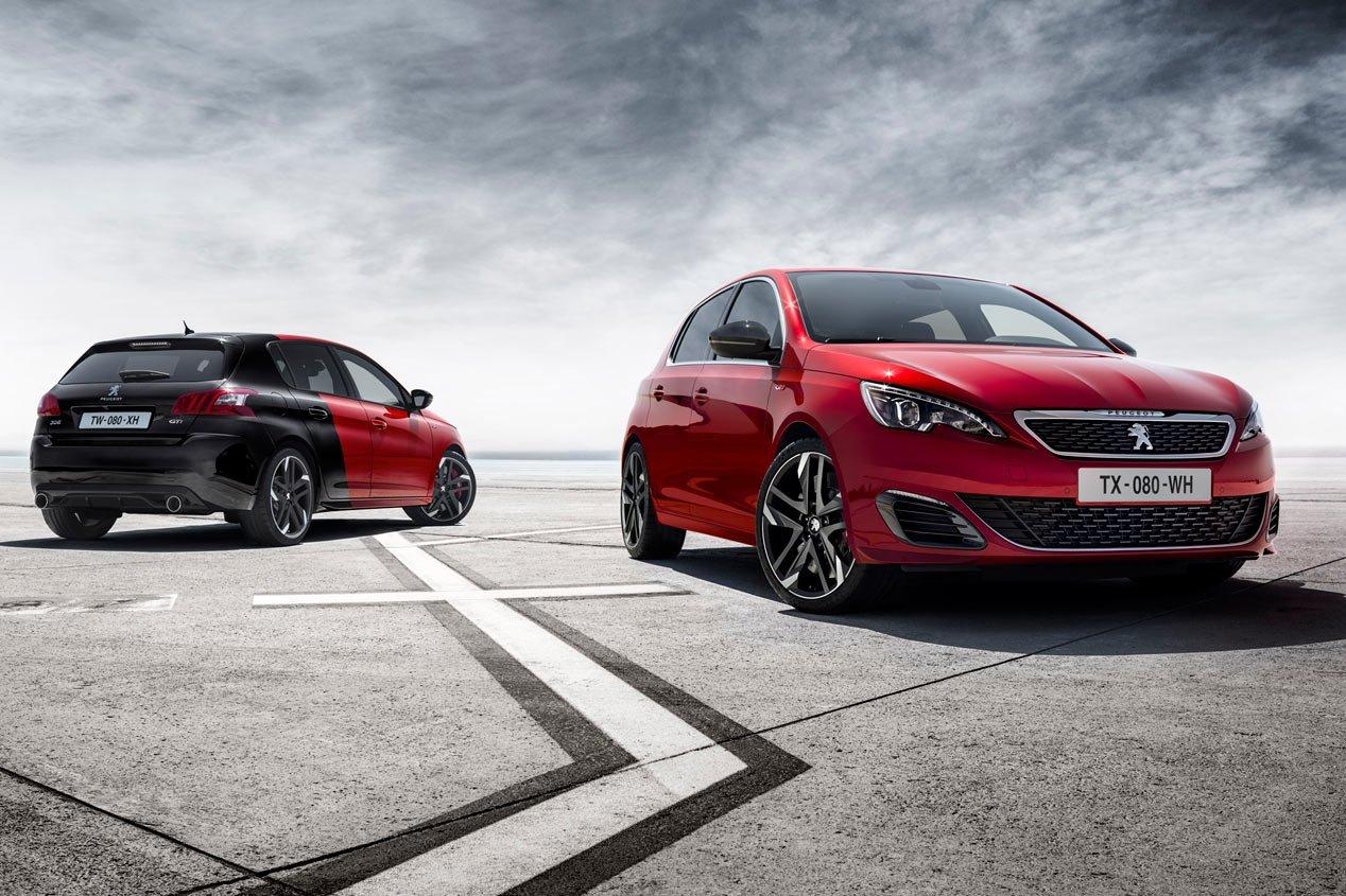 Peugeot показала первое фото нового 308 GTi