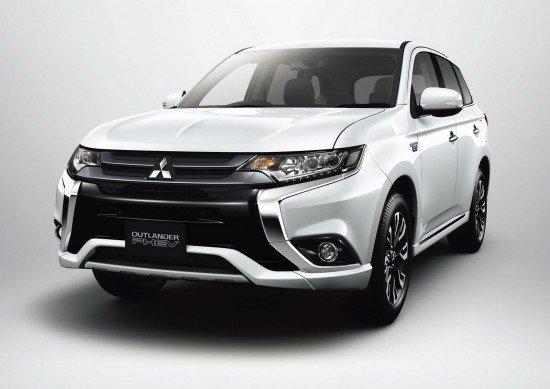 Гибридная версия Mitsubishi Outlander 2016 PHEV