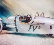Morgan создал 3-колёсный электрокар по мотивам модели 1953 года