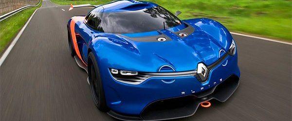 Renaul презентует свой новый суперкар Alpine