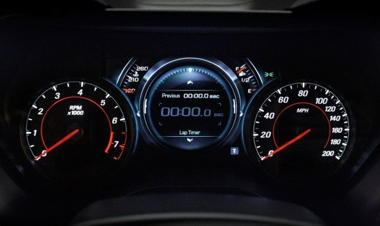 Панель приборов управления Chevrolet Camaro