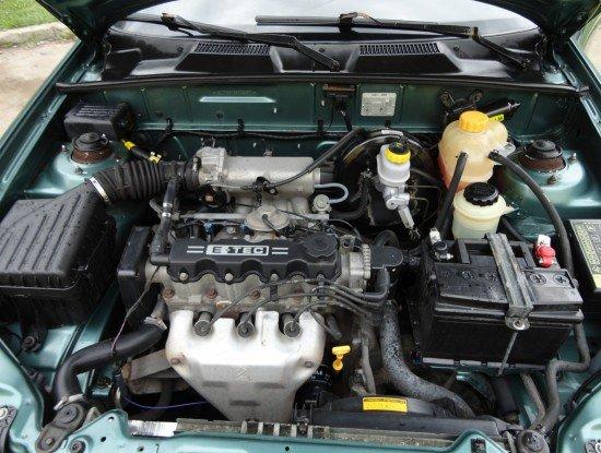 Бензиновый двигатель Chevrolet Lanos