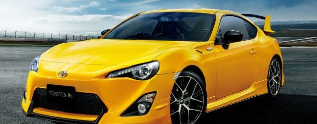 Toyota GT86 Yellow Limited