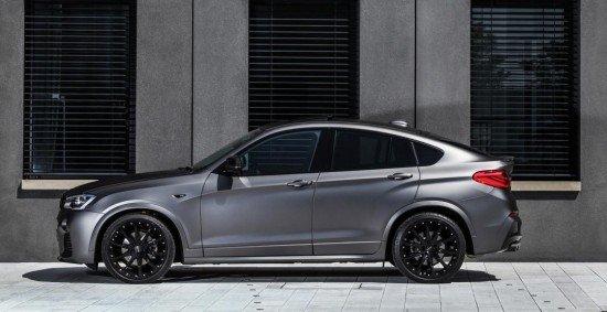 Кроссовер BMW X4 от Lightweight, вид сбоку