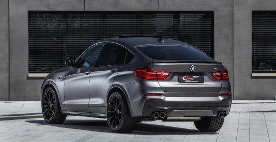 Кроссовер BMW X4 от Lightweight, вид сзади