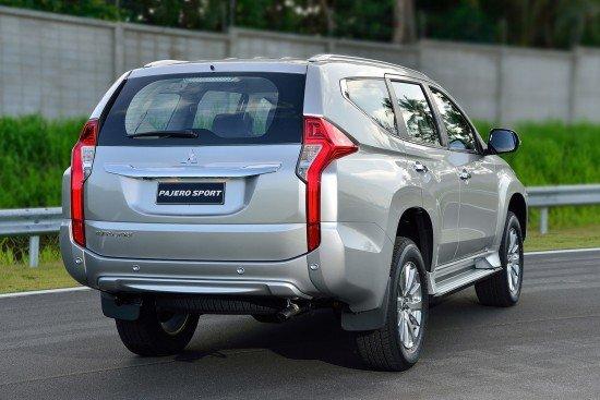Новый Mitsubishi Pajero Sport 3, вид сзади