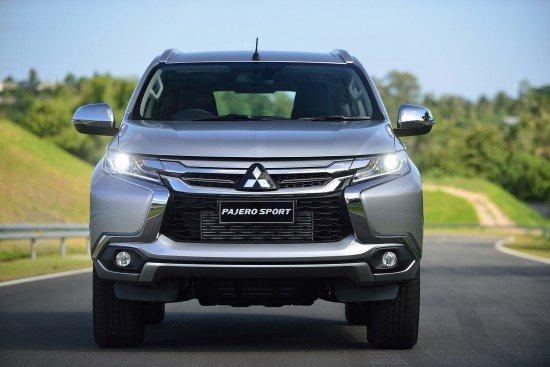 Новый Mitsubishi Pajero Sport 3, вид спереди
