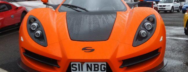 Суперкар для повседневной езды Sin R1 RS, вид спереди