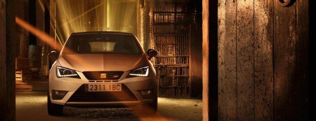 Seat Ibiza Cupra белого цвета, вид спереди