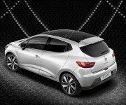 Renault Clio Iconic белого цвета, вид сбоку