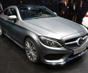Mercedes-Benz C-Class Coupe цвета металлик, вид спереди