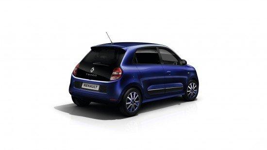 Renault Twingo Cosmic цвета Ultraviolet, вид сзади