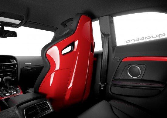 Салон Audi A5 DTM, пассажирские кресла